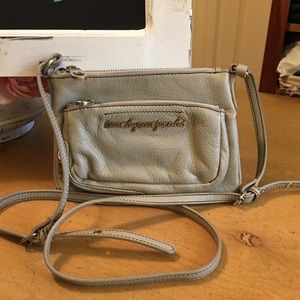 Marc by Marc Jacobs Gray Leather Cross Body Bag